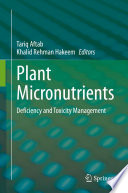 Plant Micronutrients Book