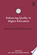 Enhancing Quality In Higher Education Book PDF