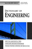 Dictionary of Engineering [Pdf/ePub] eBook