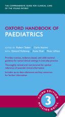 Oxford Handbook of Paediatrics 3e Book