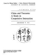 China and Tanzania