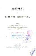 A Cyclopedia of Biblical Literature Book PDF