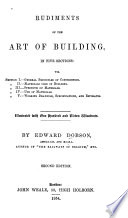 Rudiments of the Art of Building
