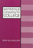 Sentence Composing for College