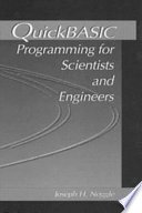 QuickBASIC Programming for Scientists and Engineers