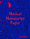 Musical Manuscript Paper