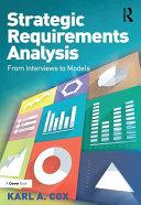 Strategic Requirements Analysis