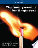 Thermodynamics For Engineers  SI Edition