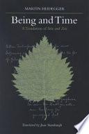 """""""Being and Time: A Translation of Sein und Zeit"""" by Martin Heidegger, Joan Stambaugh, Professor Joan Stambaugh"""