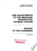 Adjustments to the Medicare Prospective Payment System