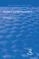Pdf Revival: Studies in the Napoleonic Wars (1929) Telecharger