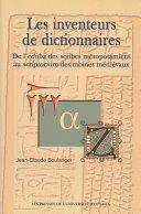 Pdf Les Inventeurs de dictionnaires Telecharger