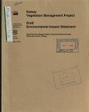 Deschutes National Forest (N.F.), Kelsey Vegetation Management Project