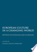 European Culture in a Changing World