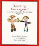 Teaching Kindergarten Book