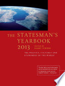 The Statesman s Yearbook 2013