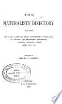 The Naturalists' Directory (International).