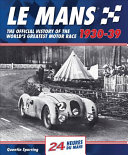 Le Mans 1930-39