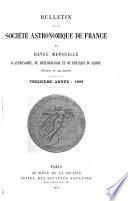 Bulletin de la Société astronomique de France et revue mensuelle d'astronomie, de météorologie et de physique du globe