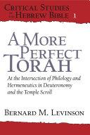 A More Perfect Torah