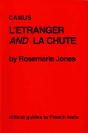 Camus, L'étranger and La chute