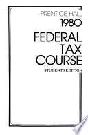 Prentice-Hall Federal Tax Course