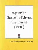 Aquarian Gospel of Jesus the Christ