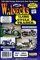 Pdf WALNECK'S CLASSIC CYCLE TRADER, JULY 1998