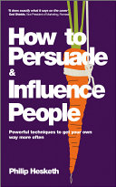 How to Persuade and Influence People Pdf/ePub eBook