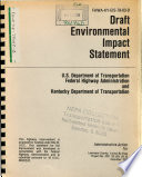 US 23  Louisa Bypass Relocation  Lawrence County Book
