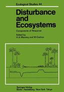 Disturbance and Ecosystems