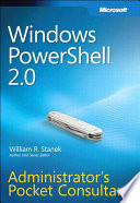 Windows PowerShell 2.0 Administrator's Pocket Consultant.epub