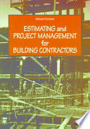 Estimating and Project Management for Building Contractors