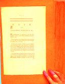 Case of Alexander Dalrymple, Esq