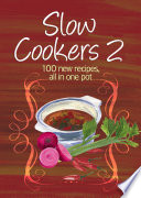 Easy Eats  Slow Cookers 2 Book