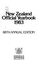 The New Zealand Official Year Book Book PDF