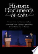 Historic Documents of 2012
