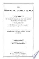 The Treasury of British Eloquence