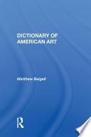 Dictionary Of Modern Art