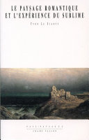 Le paysage romantique et l'expérience du sublime Pdf/ePub eBook