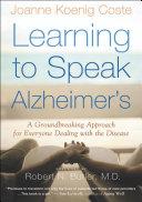 Learning to Speak Alzheimer's Pdf/ePub eBook