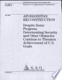 Afghanistan Reconstruction