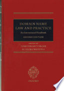 Domain Name Law and Practice