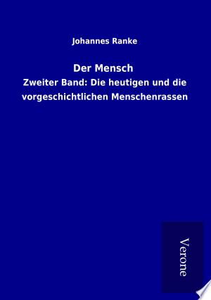Download Der Mensch Free Books - Dlebooks.net