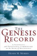 The Genesis Record Pdf/ePub eBook