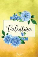 Valentina Journal ebook