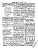 The Literary Gazette and Journal of the Belles Lettres  Arts  Sciences   c