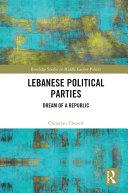 Pdf Lebanese Political Parties Telecharger