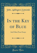 In the Key of Blue