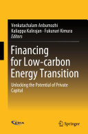 Financing for Low carbon Energy Transition